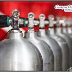Aluminium Tauchflaschen Curacao Divers Deutsche Tauchschule Tauchen Tauchurlaub Urlaub entspannen Unterwasser Non Limit Freiheit selbstständig Karibik Strände Beach