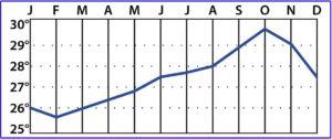 Curacao Wassertemperatur beim tauchen