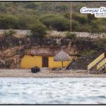 Der Strand nennt sich Playa FOrti und der Tauchplatz heisst Sweet Alice in Westpunt von Curacao zum Tauchen